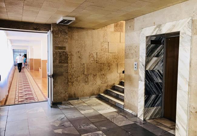 Санаторий Червона Калина - лифт.