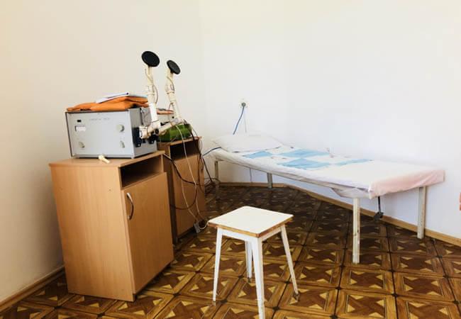 Санаторий Червона Калина - магнитотерапия.