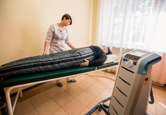 Санаторий Пролисок Фото - Прессотерапия.