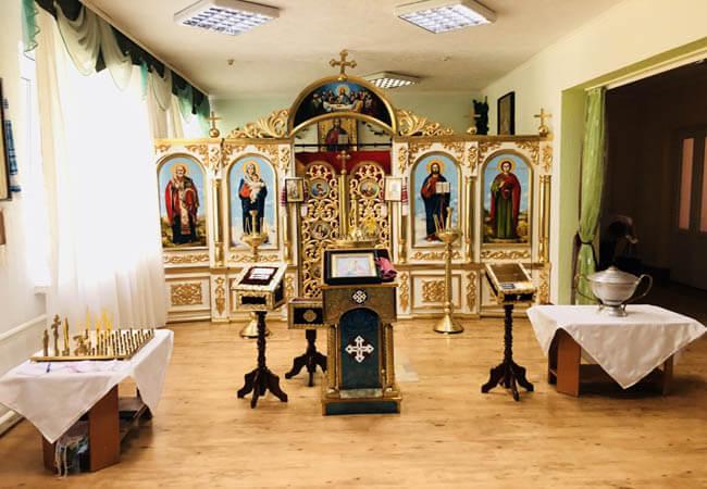 Санаторий Пролисок Фото - Церковь.