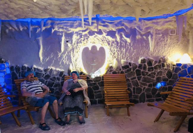 Санаторий Пролисок Фото - соляная комната.