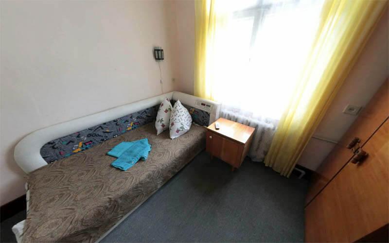 Номер 1.ком 1.месн (без удобств) - Кровать.