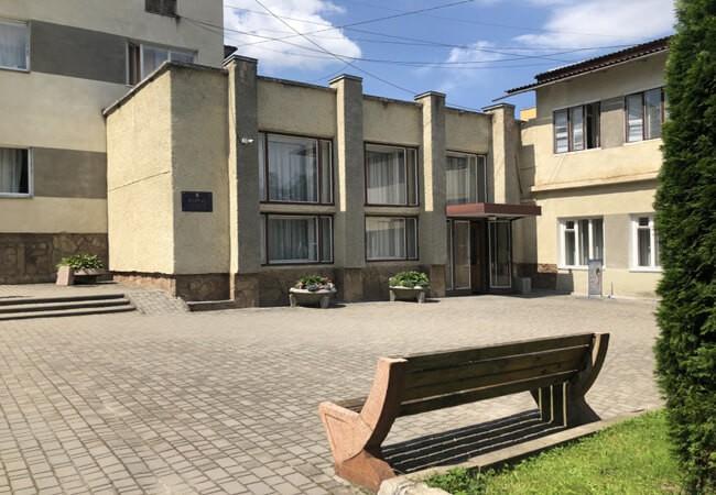Санаторий Моршинский Фото - Площадь.