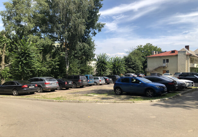 Санаторий Моршинский Фото - Стоянка.