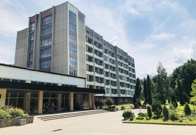 Санаторий Моршинский Фото - Вход.