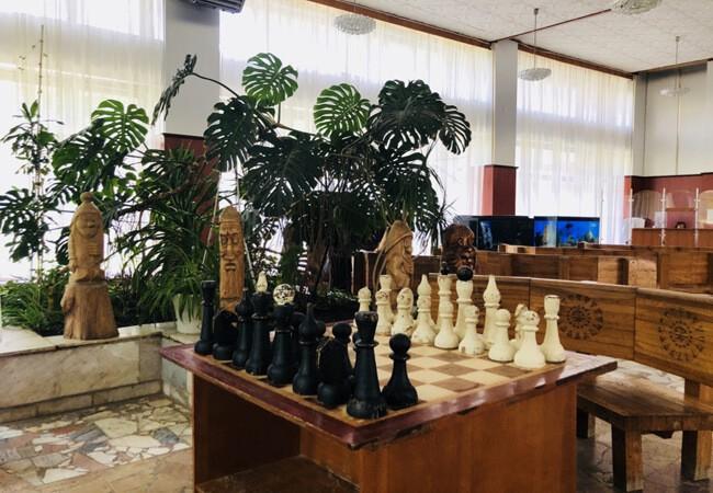 Санаторий Моршинский Фото - Шахматы.