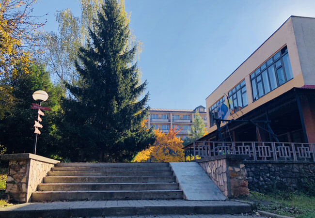 Санаторий Поляна - Ступеньки.