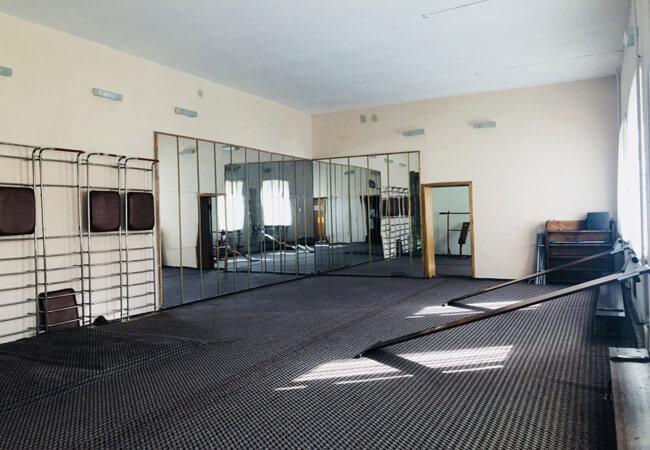 Санаторий Поляна - спорт зал.