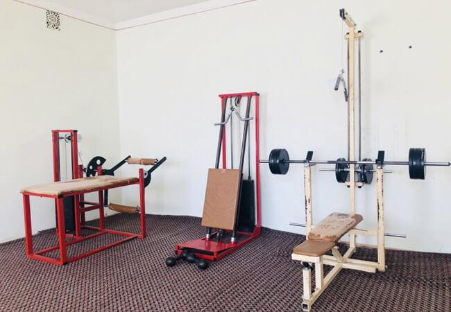 Санаторий Поляна - тренажерный зал.