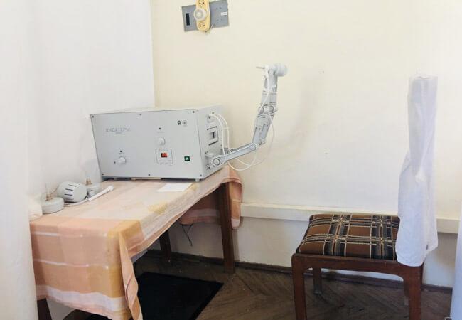 Санаторий Поляна - магнитотерапия.