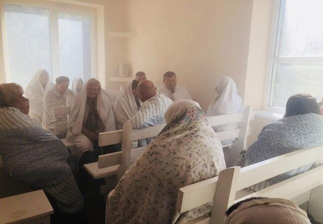 Санаторий Поляна Закарпатье - соляная комната.