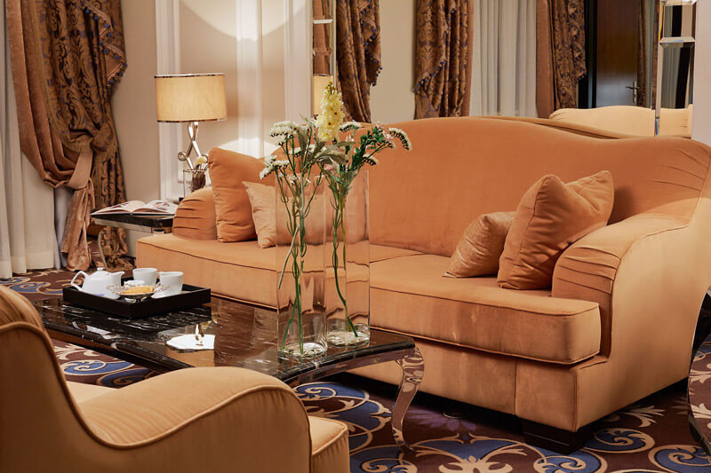 Edem Resort Номер 2ком Люкс - Диван.