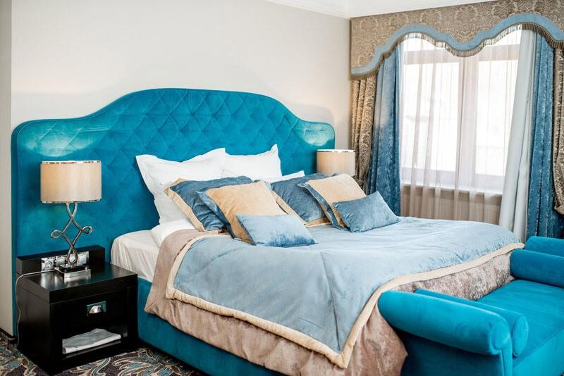 Edem Resort Номер 1ком Люкс - Спальня.