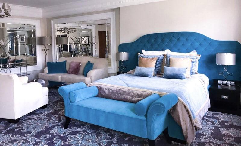 Edem Resort Номер 1ком Люкс - Кровать.