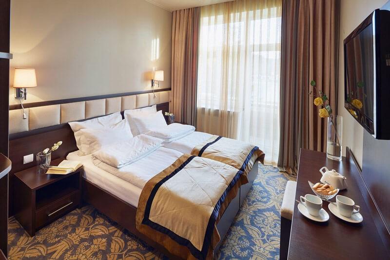 Edem Resort Номер Эконом - Кровать.