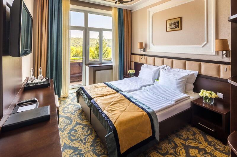 Edem Resort Номер Эконом - Спальня.
