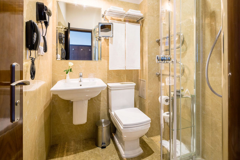 Edem Resort Номер Эконом - Санузел.