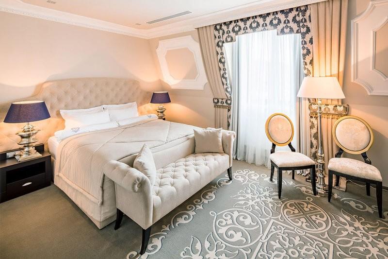Edem Resort Номер Стандарт - Спальня.