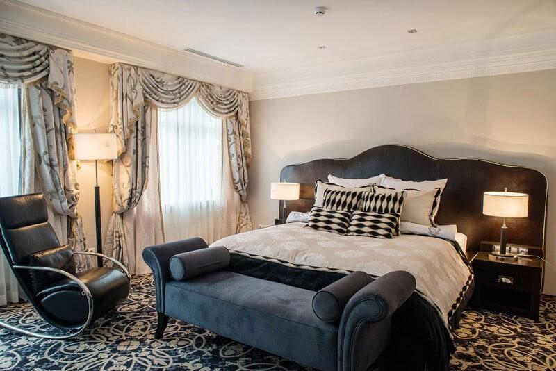 Edem Resort Номер Представительский - Кровать.