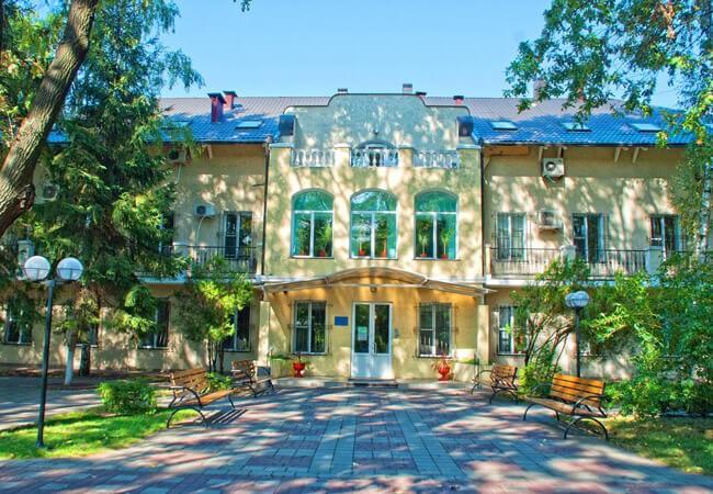 Санаторий Белая Акация - Вход.