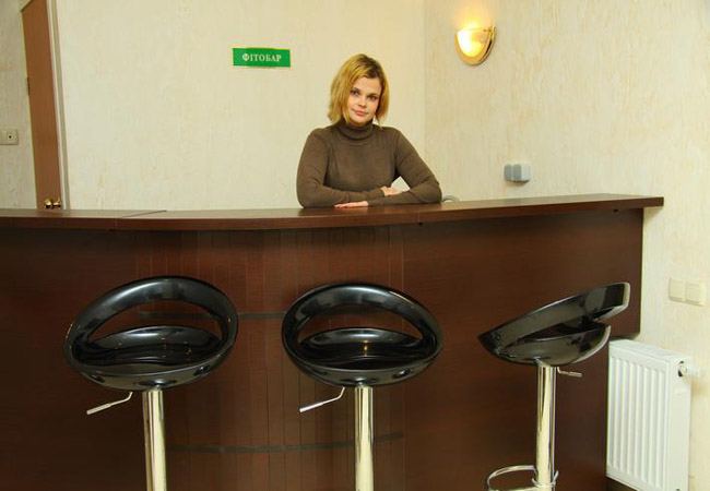 Санаторий Белая Акация Фото - Рецепция.