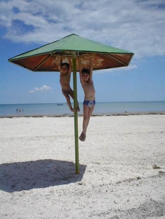 Санаторий Белая Акация Фото - Пляж.
