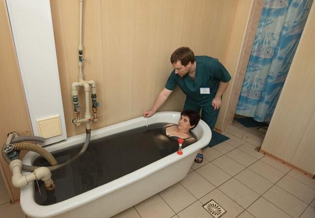 Грязевая ванна Бердянск