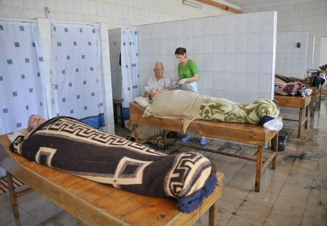 Грязи в Бердянске