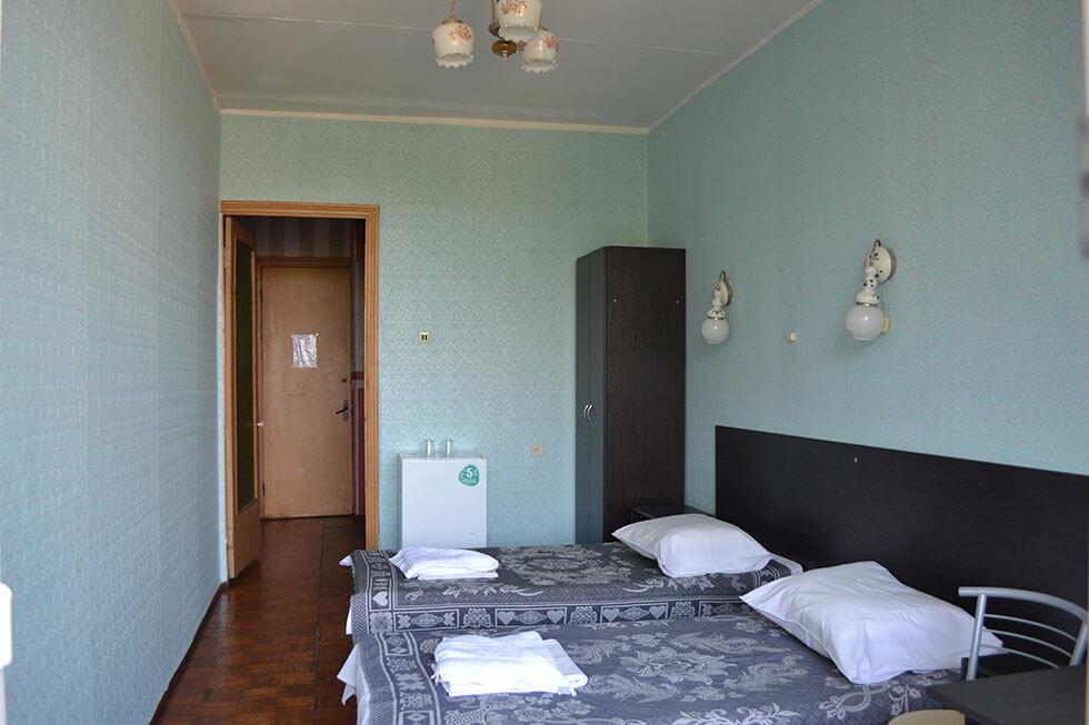 Санаторий Одесский Номер Стандарт - Спальня.