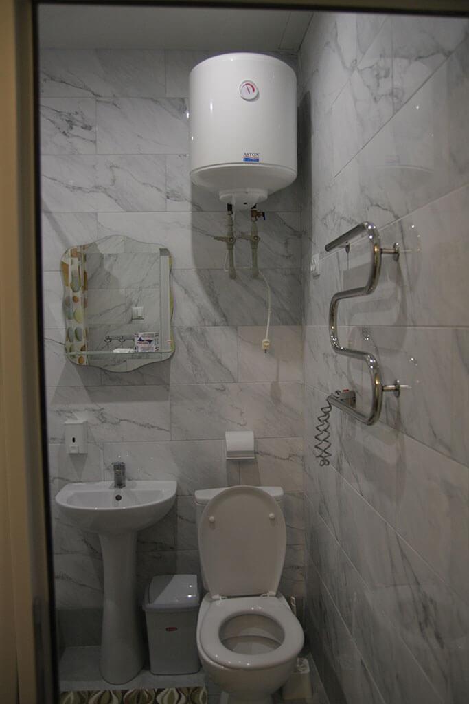 Санаторий Одесский Номер Полулюкс - Туалет.