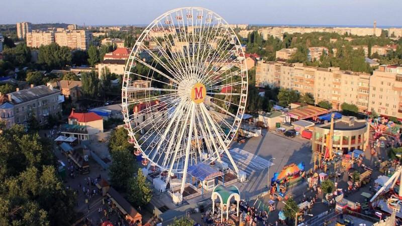 Чертовое колесо Бердянск