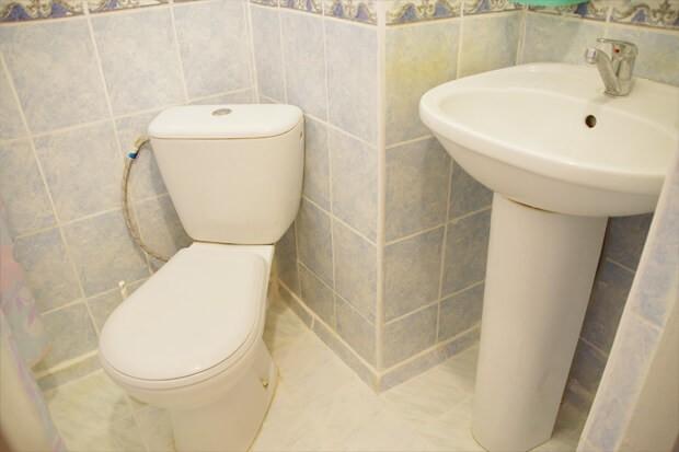 Инфарктное отделение Роща - туалет.