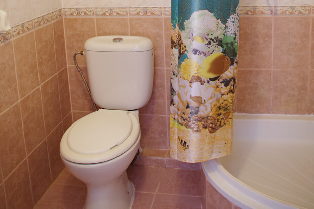 Санаторий Роща Номер Люкс - Туалет.