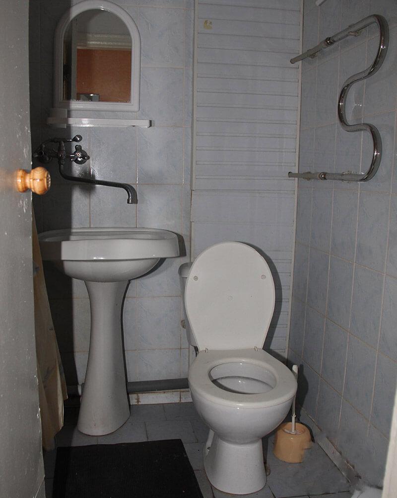 Санаторий Бердянск Номер Улучшенный - туалет.
