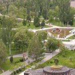 Санаторий Лазурный Бердянск - Вид с верху.