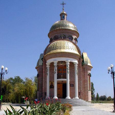Санаторий Лазурный Бердянск - Церковь.