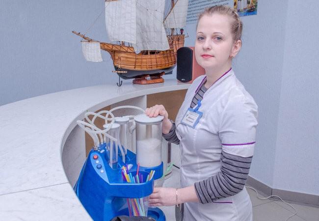 Санаторий Арктика Бердянск - Лечебная пенка.