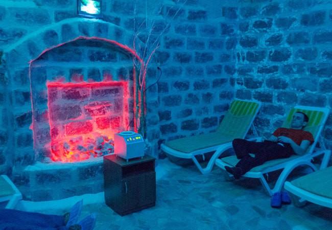 Санаторий Арктика Бердянск Фото - Соляная комната.