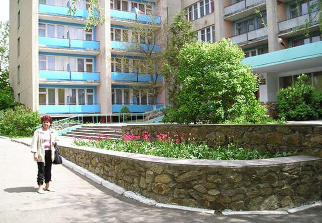 Санаторий Бердянск - растения.