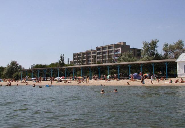 Санаторий Бердянск - Пляж.