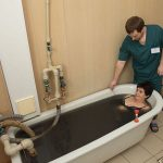 Санаторий Бердянск - грязевая ванна.