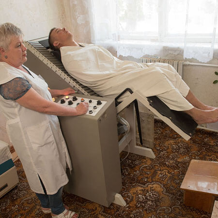 Санаторий Бердянск Фото - Медсестра.