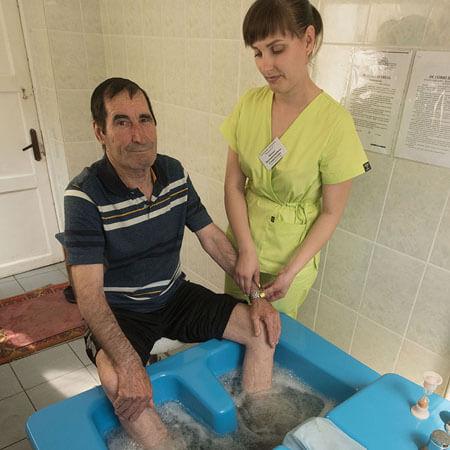 Санаторий Бердянск Фото - процедура.