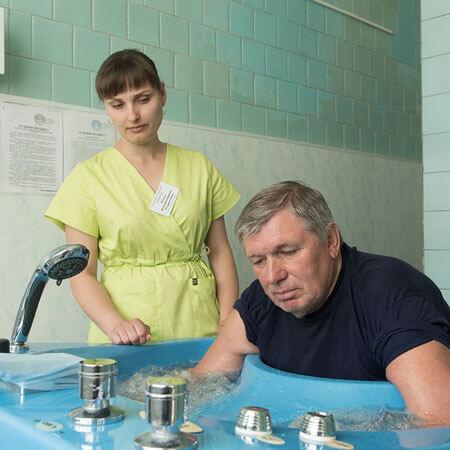 Санаторий Бердянск Фото - Гидромассаж.