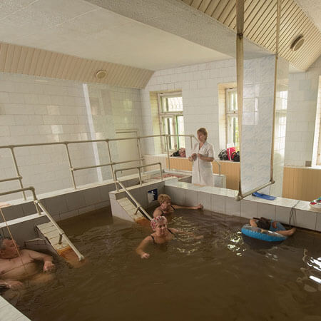 Санаторий Бердянск Фото - Лечебные ванны.