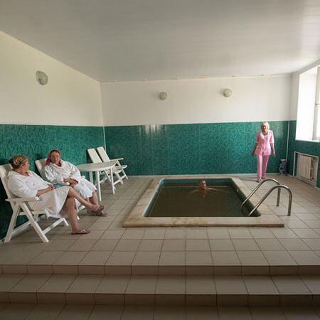 Санаторий Бердянск Фото - Бассейн.