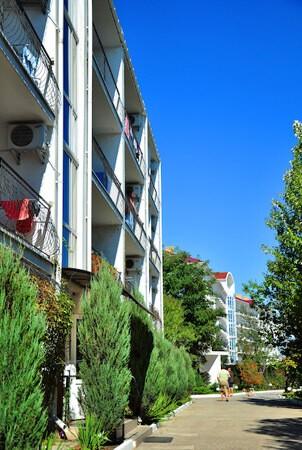 Санаторий Нефтехимик Бердянск Фото - Балконы.