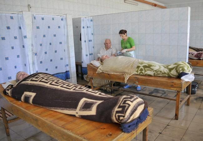 Санаторий Нефтехимик Бердянск Фото - грязелечение.
