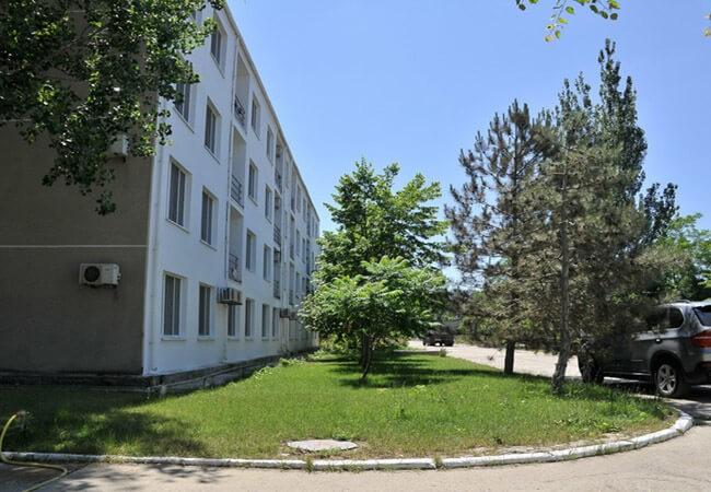 Санаторий Нефтехимик Бердянск Фото - Корпус 1.