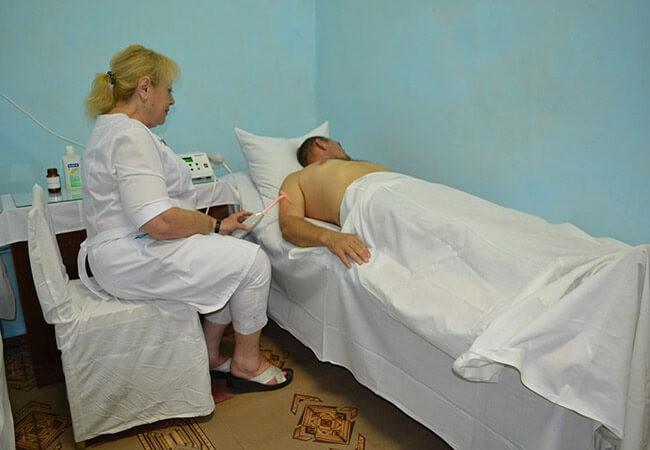 Санаторий Одесский Фото - Медсестра.